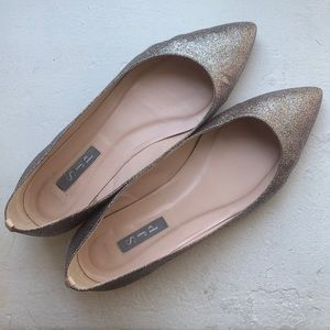 SJP by Sarah Jessica Parker Story Flats in Tinsel